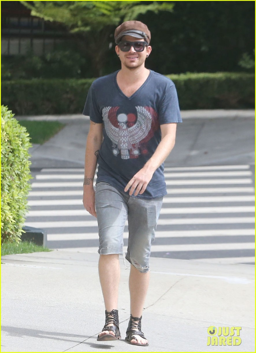 adam lambert steps out with ex sauli koskinen after cory monteith condolence 13