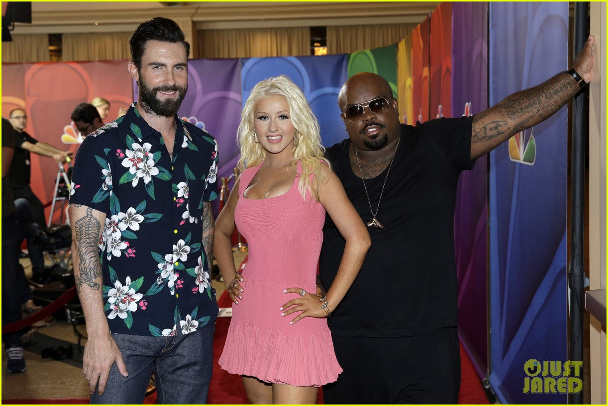 adam levine cee lo green nbc summer tca tour event 042918257
