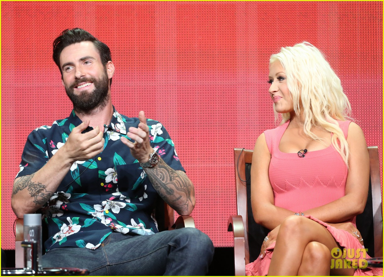 adam levine cee lo green nbc summer tca tour event 182918271