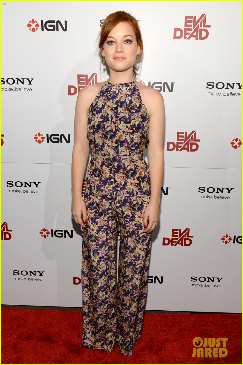 jane levy evil dead blu ray fan party at comic con 2013 012913629