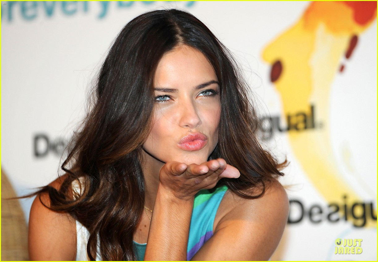 adriana lima desigual for everybody sex fun love event 022906826