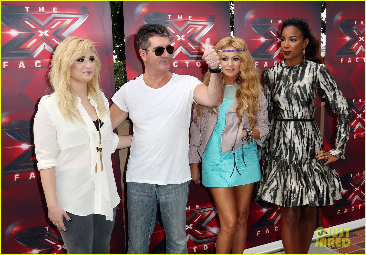 demi lovato kelly rowland x factor la auditions day two 192908157