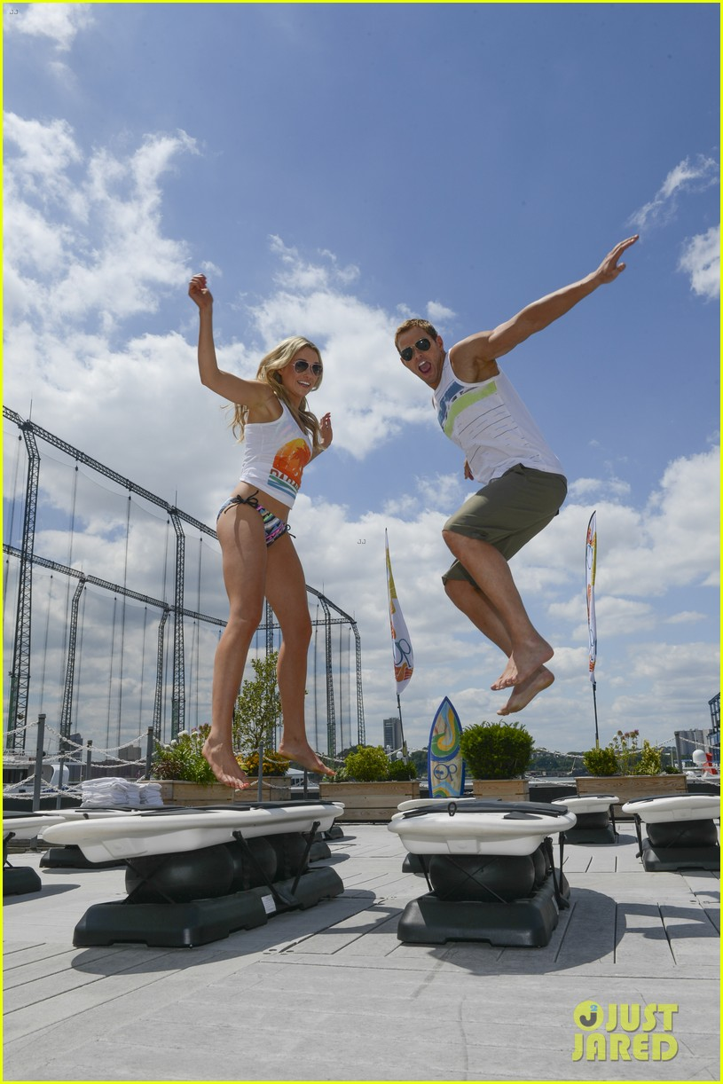 kellan lutz katrina bowden ops surf for life event hosts 012920232