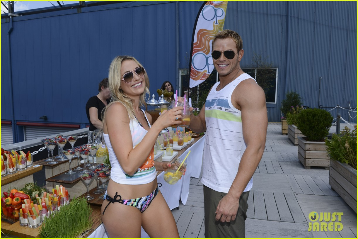 kellan lutz katrina bowden ops surf for life event hosts 032920234