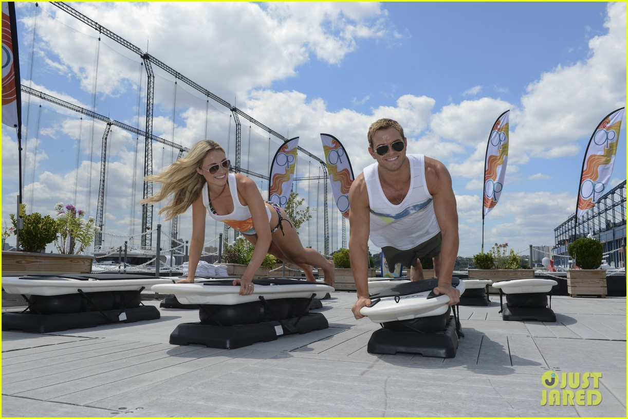 kellan lutz katrina bowden ops surf for life event hosts 122920243