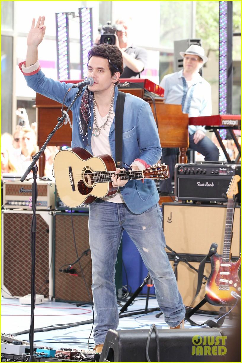 john mayer today show performance 012904388