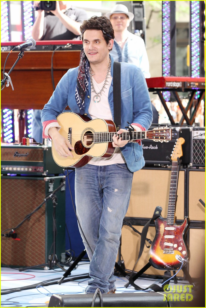 john mayer today show performance 032904390
