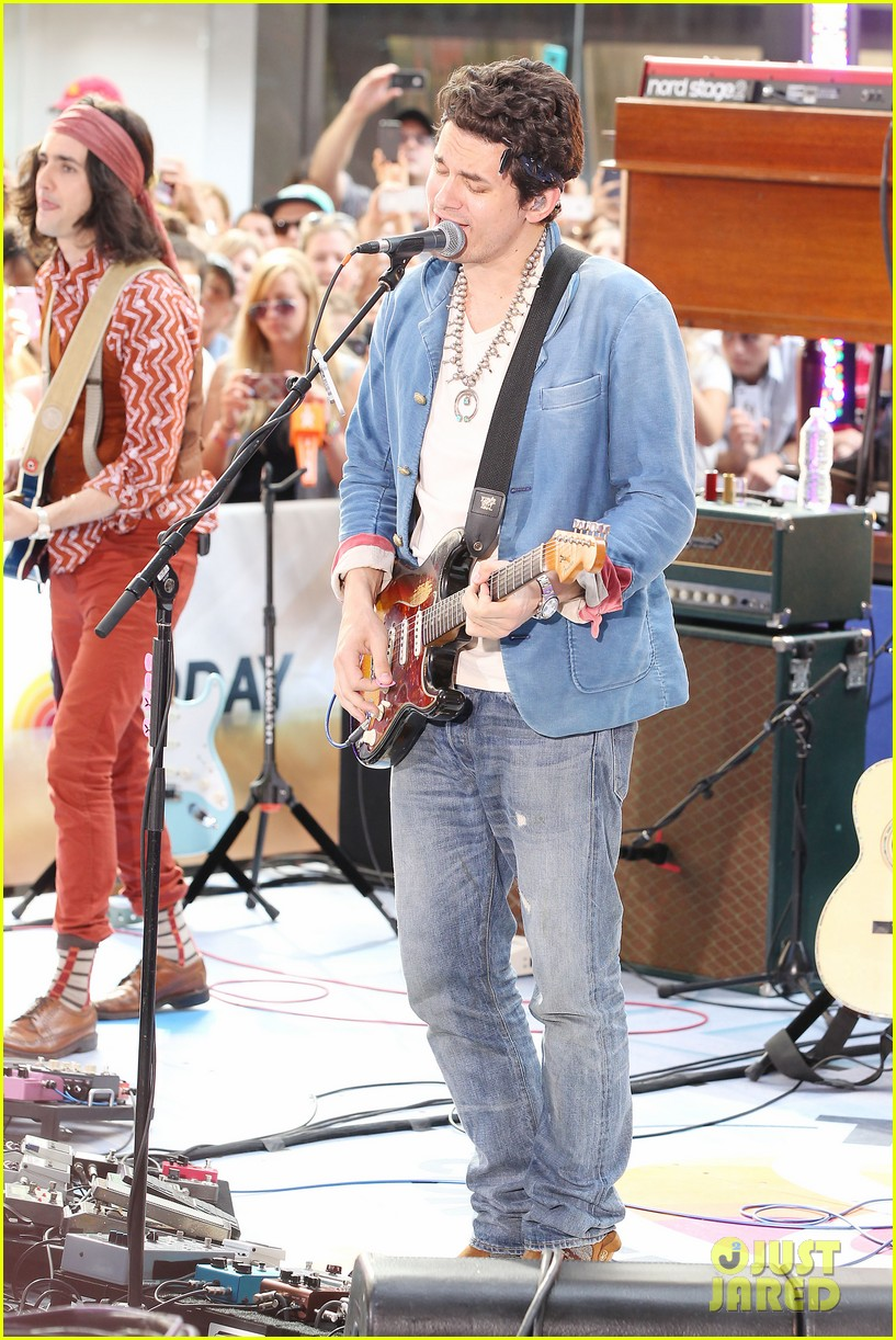john mayer today show performance 052904392