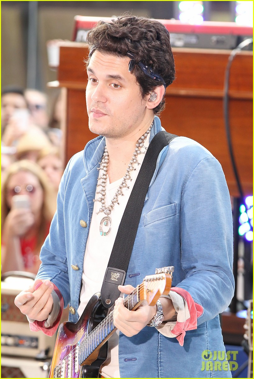 john mayer today show performance 07