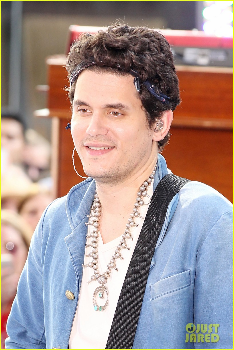 john mayer today show performance 09