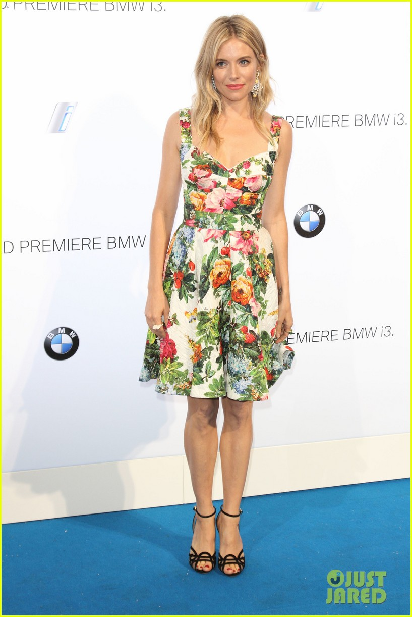 sienna miller james franco bmwi3 global reveal party 06