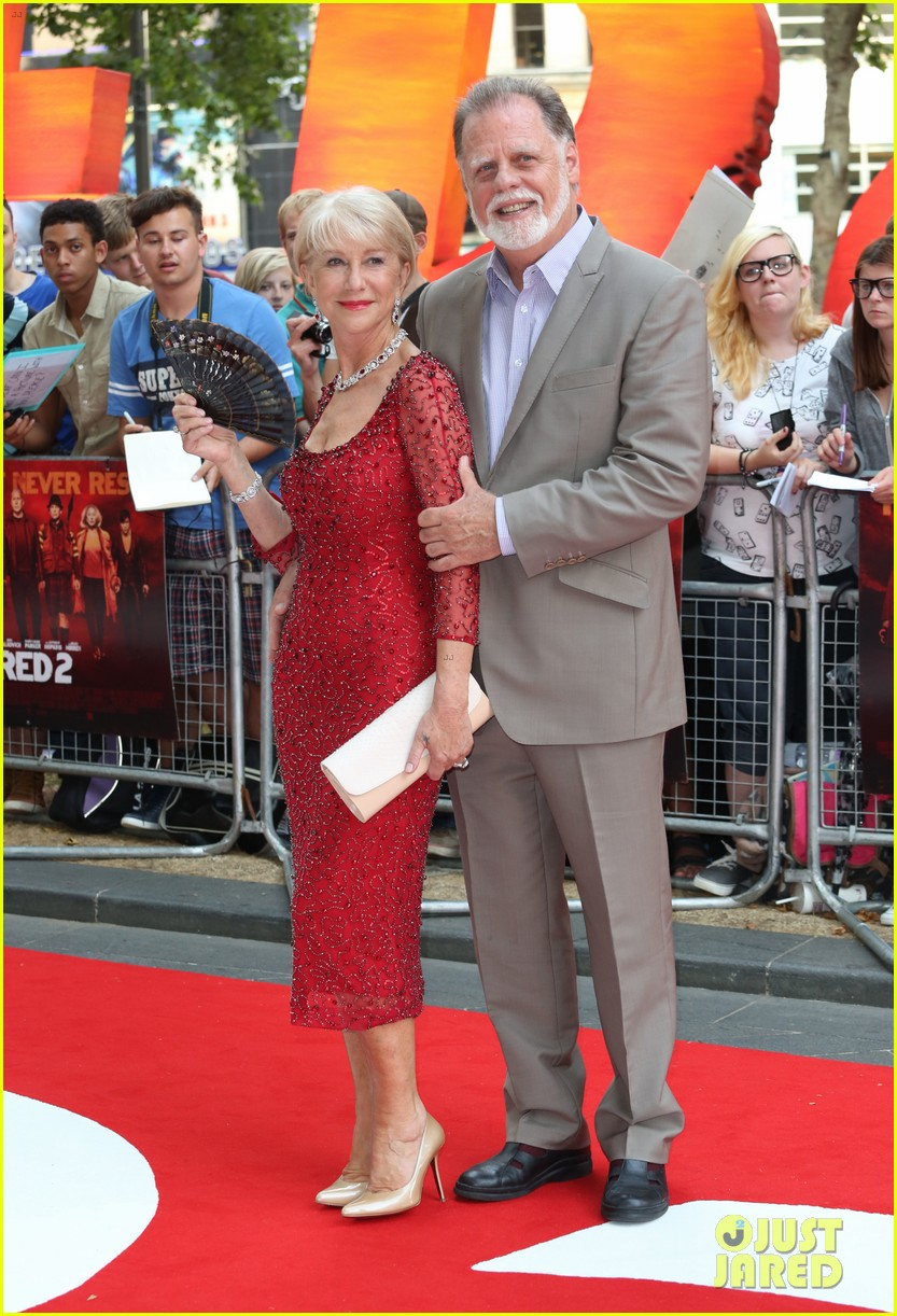 helen mirren bruce willis red 2 london premiere 142914681