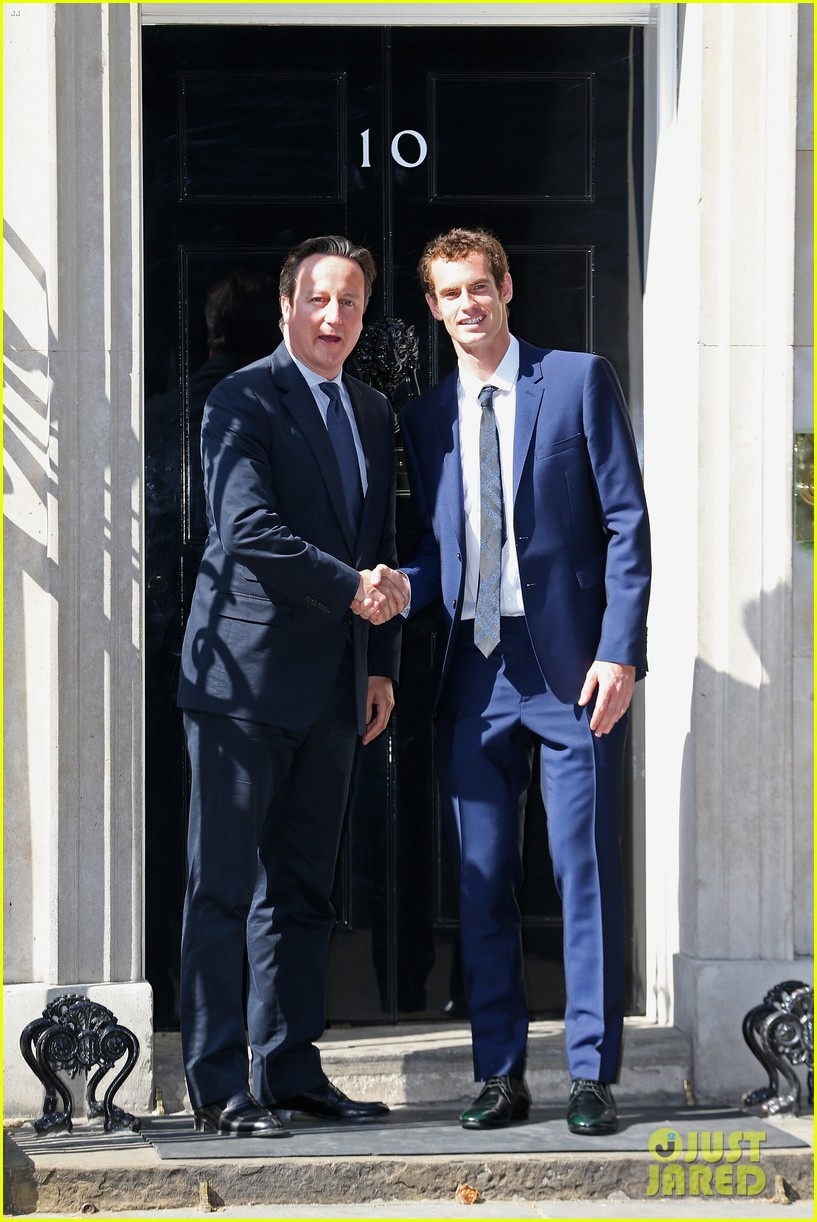 andy murray meets david cameron after wimbledon win 06