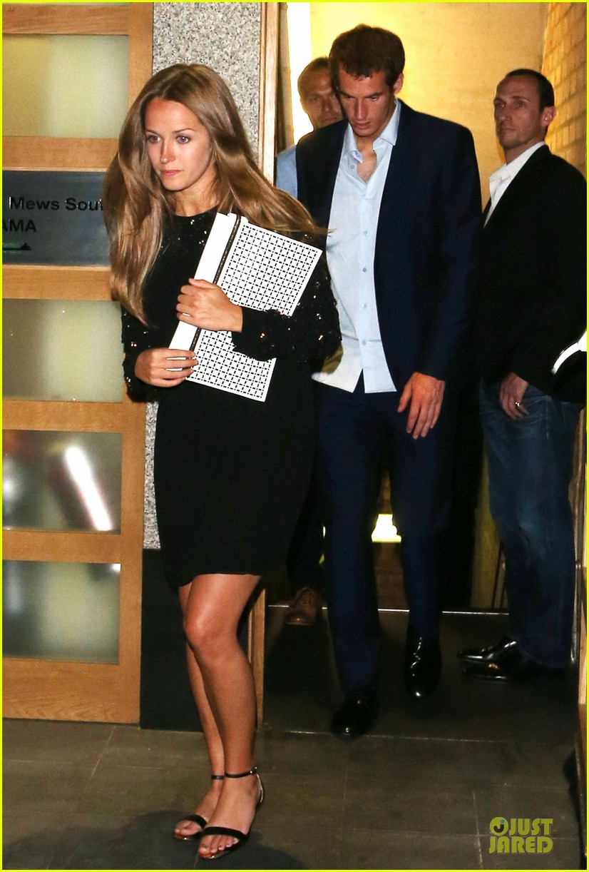 andy murray kim sears nobu dinner date after wimbledon photo call 05