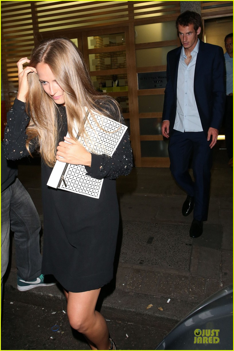 andy murray kim sears nobu dinner date after wimbledon photo call 072906348
