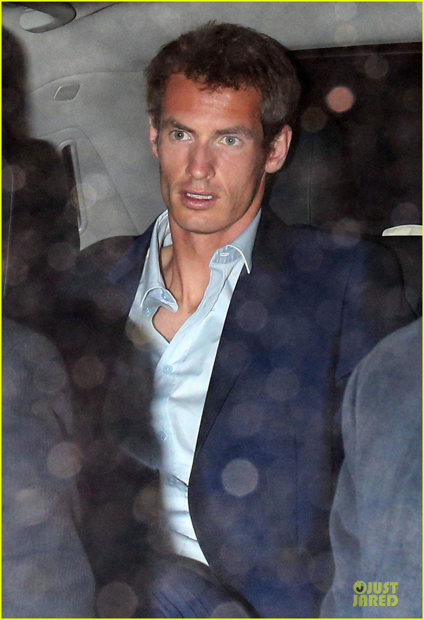 andy murray kim sears nobu dinner date after wimbledon photo call 082906349