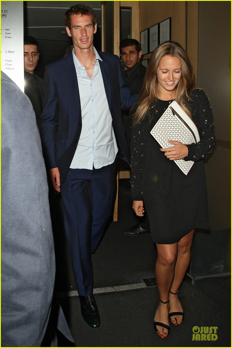 andy murray kim sears nobu dinner date after wimbledon photo call 10