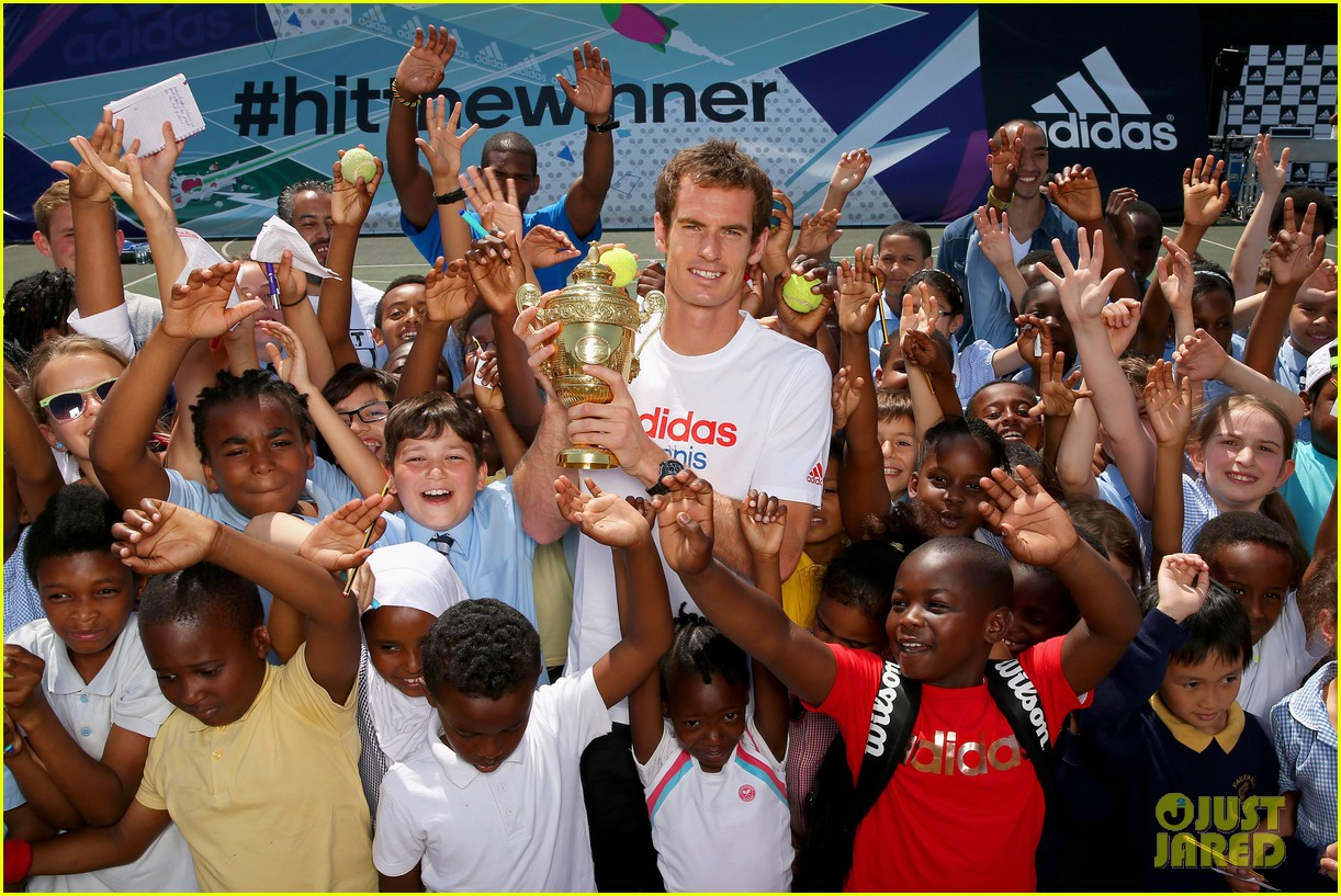 andy murray wimbledon winners photo call 18
