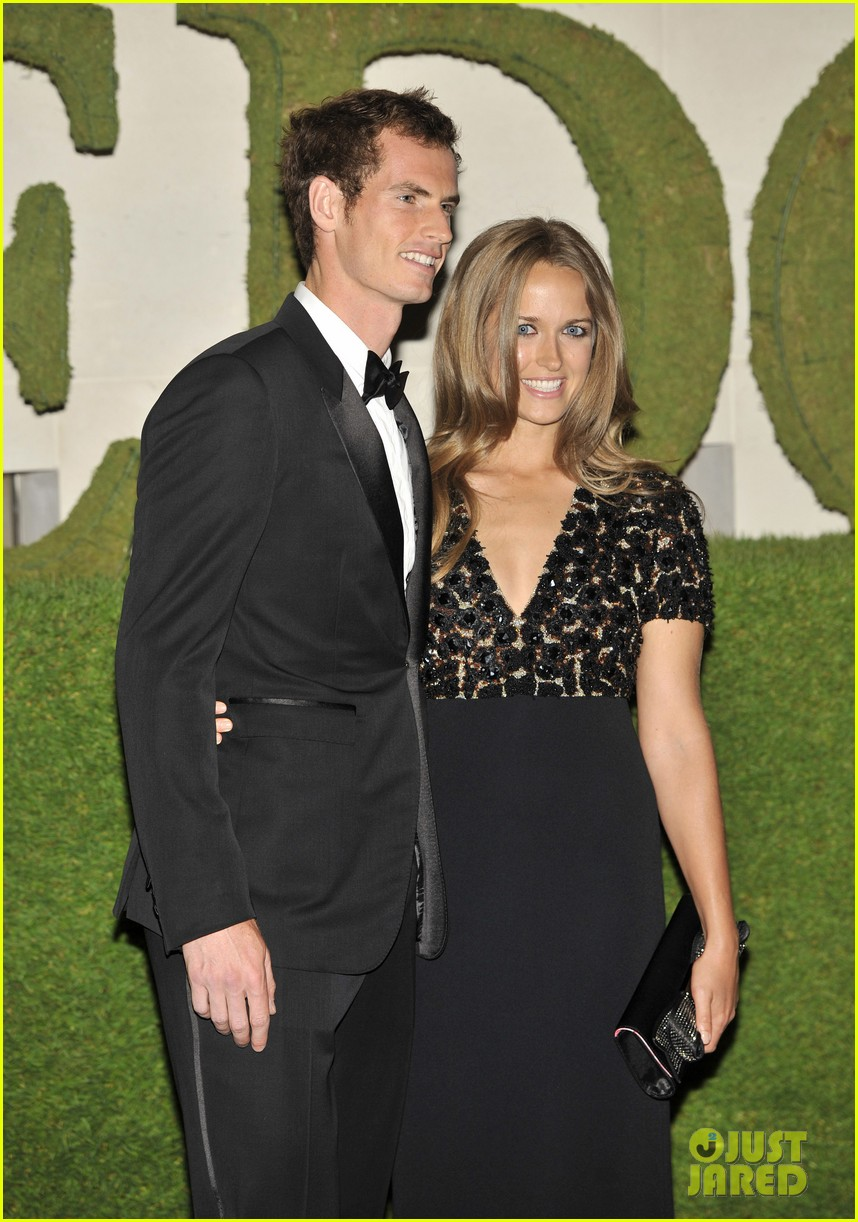 andy murray wimbledons winners ball with kim sears 02