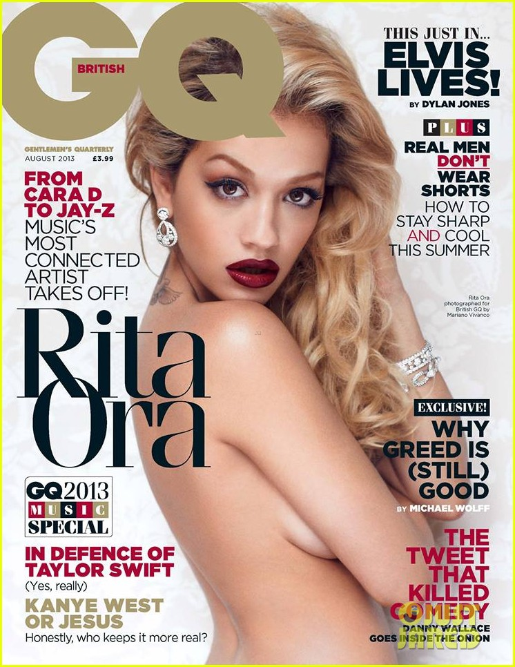 rita ora naked for british gq august 2013 01