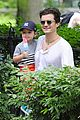 orlando bloom takes flynn to central park miranda kerr hits jfk 11