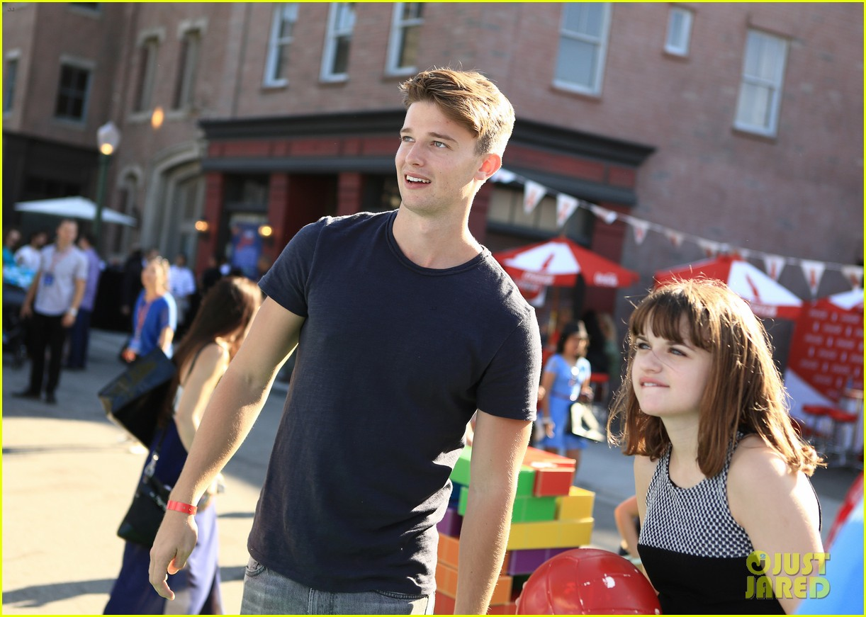 patrick schwarzenegger joey king power of youth 2013 282918301