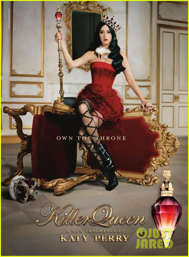 katy perry killer queen new fragrance ad 01