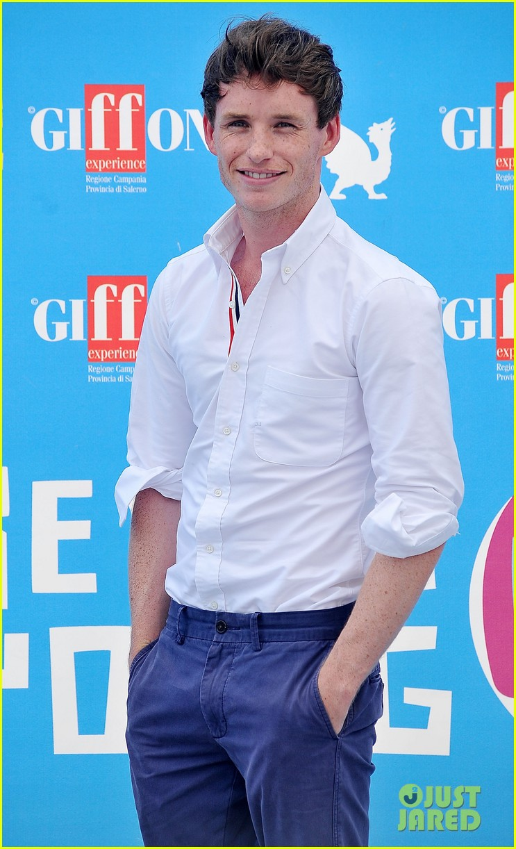 eddie redmayne giffoni film festival photo call 10