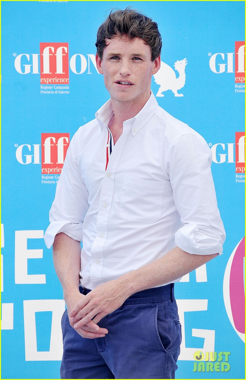 eddie redmayne giffoni film festival photo call 13