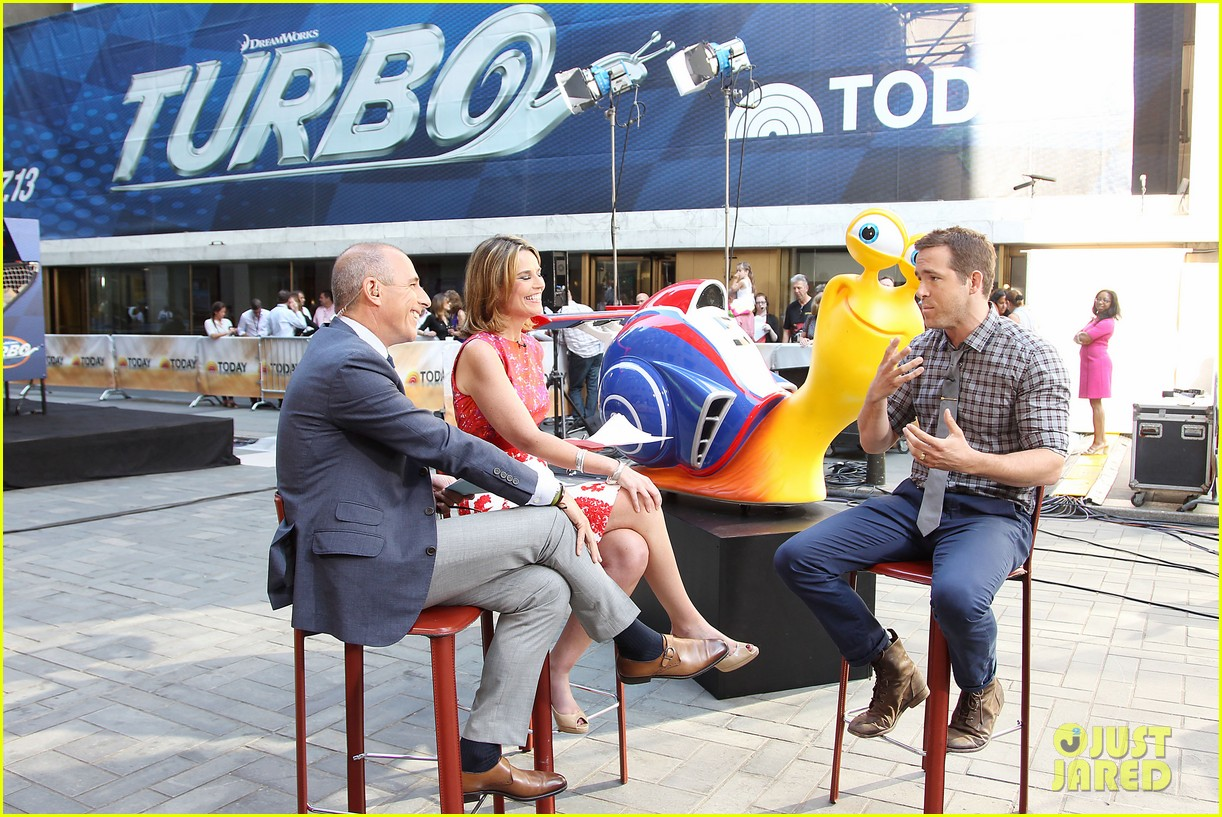 ryan reynolds turbo for today show 06