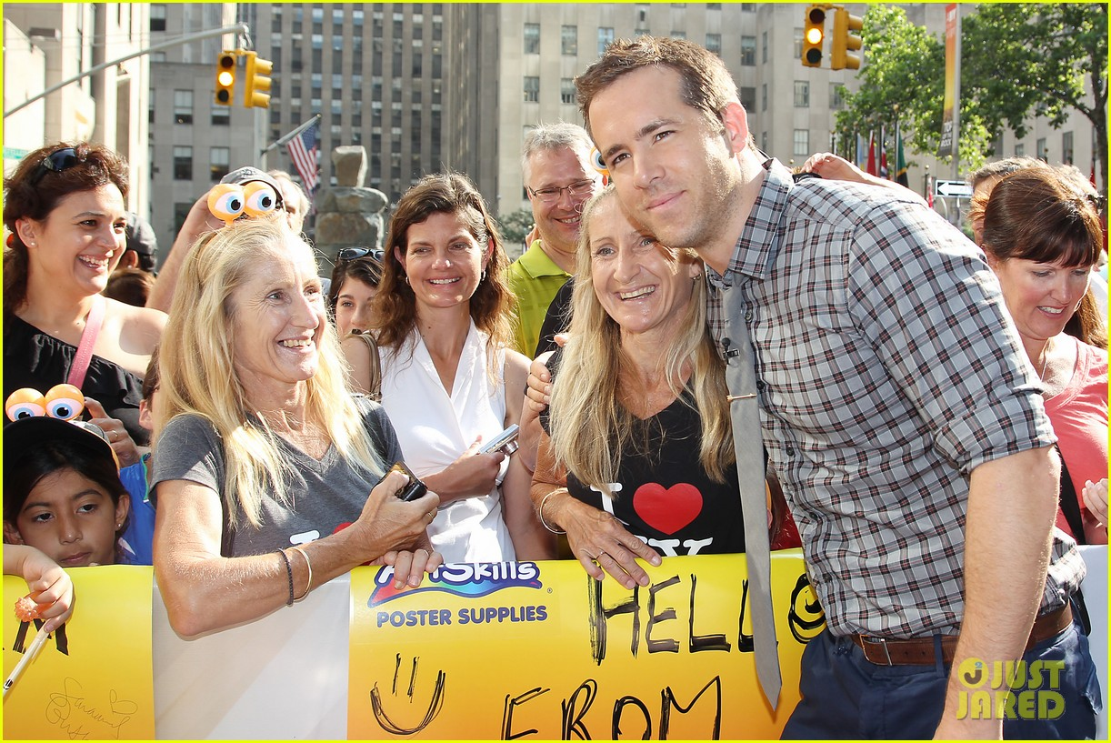 ryan reynolds turbo for today show 13