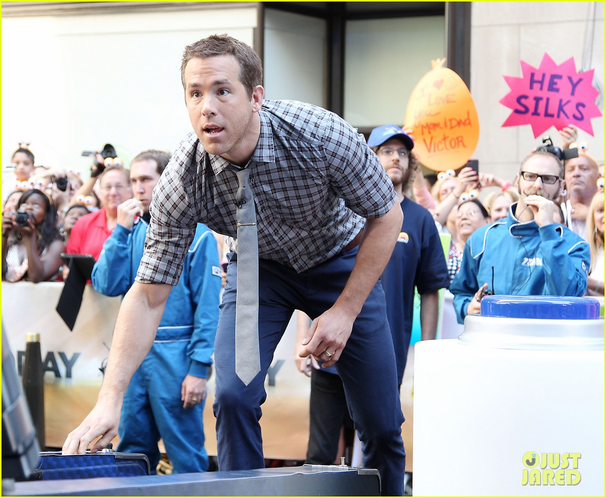 ryan reynolds turbo for today show 25