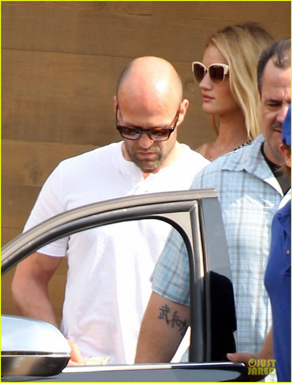 rosie huntington whiteley jason statham nobu lunch couple 142901610