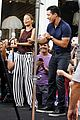 nicole richie dances with mario lopez on extra 03