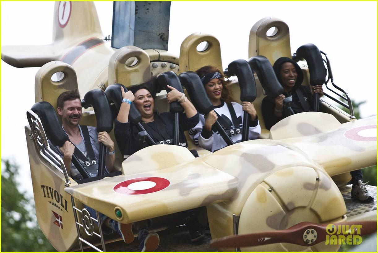 rihanna rides roller coaster at tivoli gardens 052904586