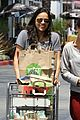 michelle rodriguez grocery shopping with gal pal kim 04