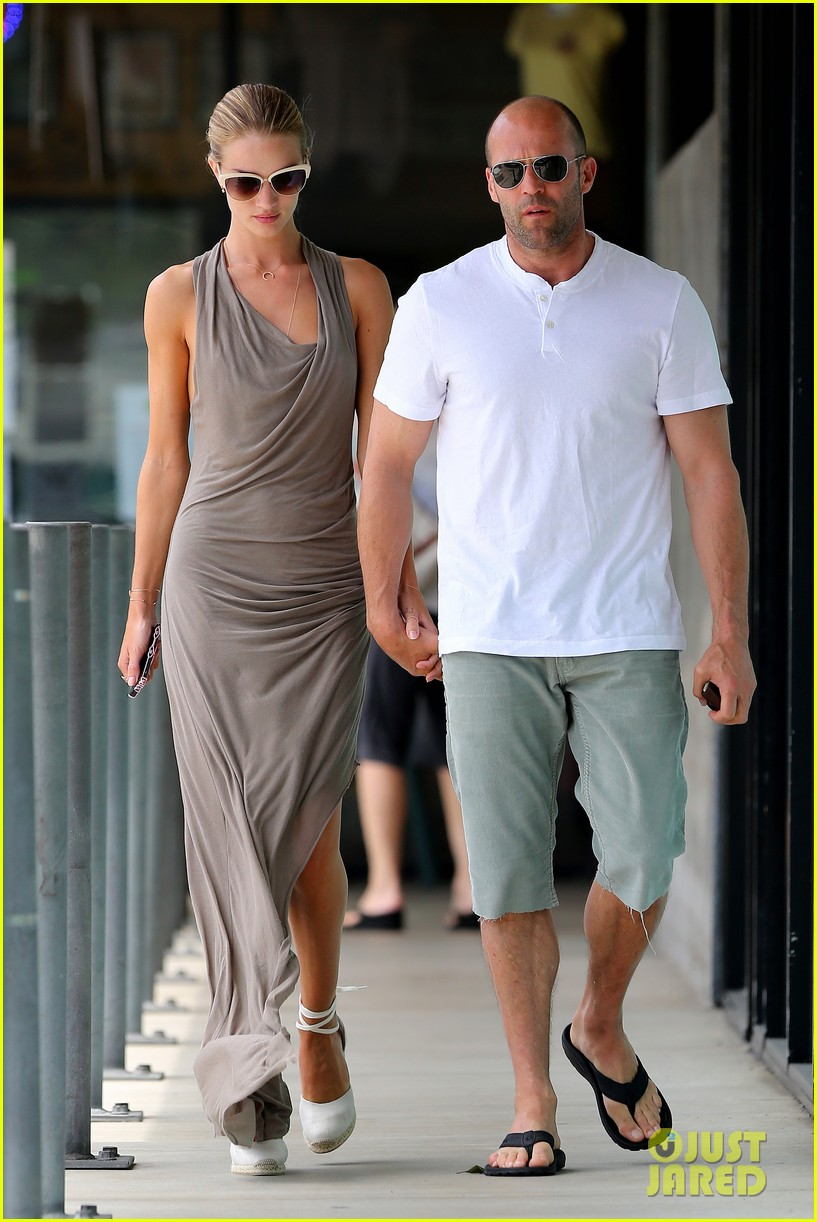 rosie huntington whiteley jason statham lunch lovers 062905020