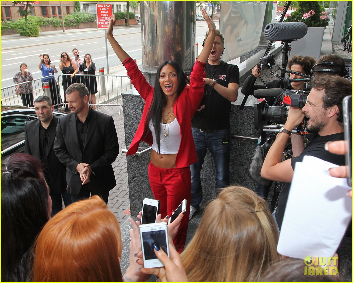 nicole scherzinger x factor uk cardiff auditions 17