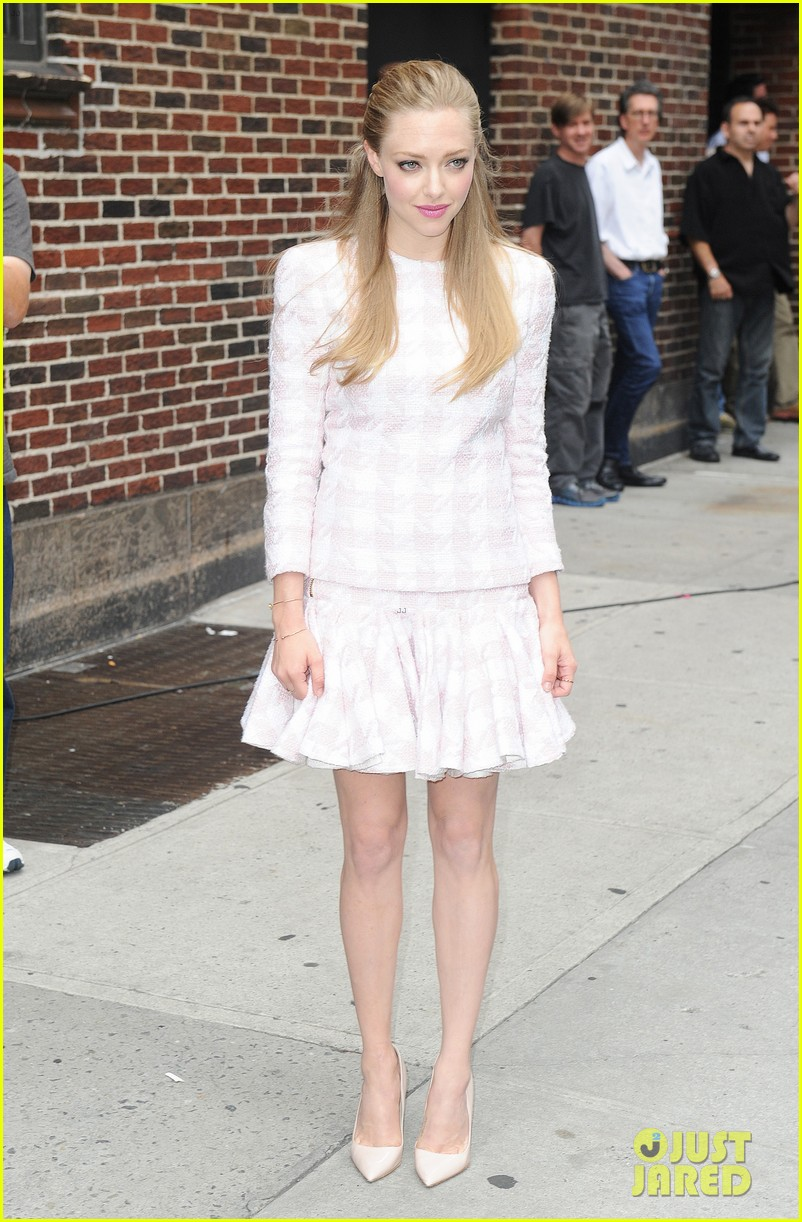 amanda seyfried lovelace promo work in new york 12