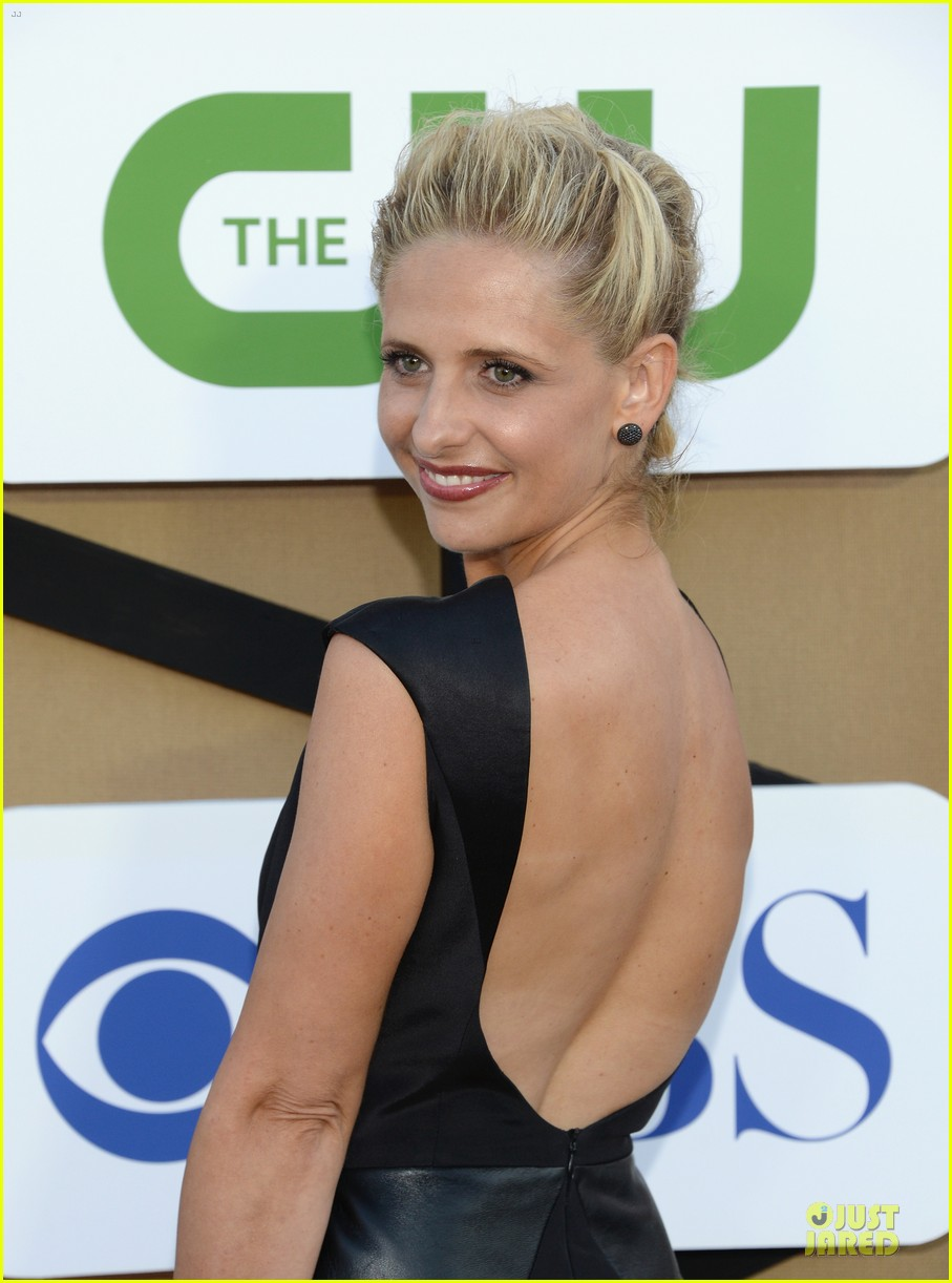 sarah michelle gellar crazy ones cast cbs summer tca party 08