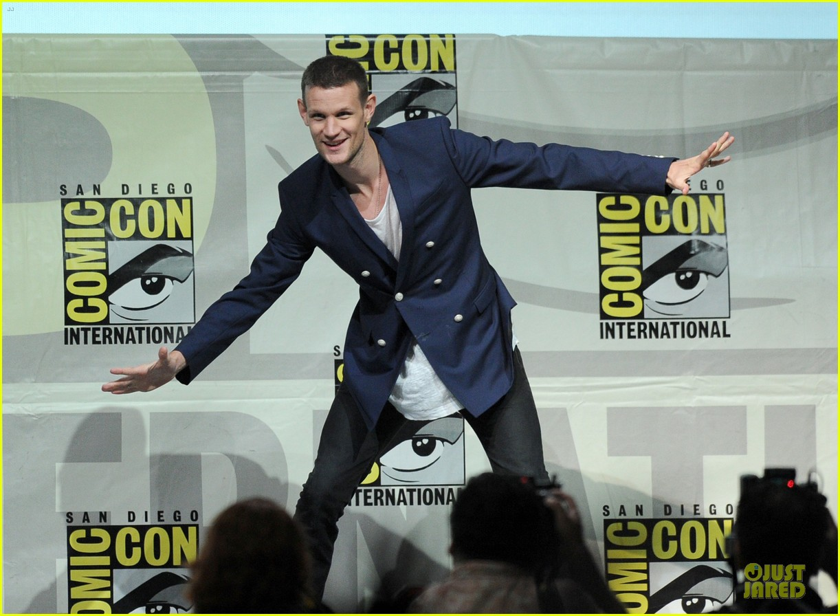 matt smith doctor who panel at comic con 052914133