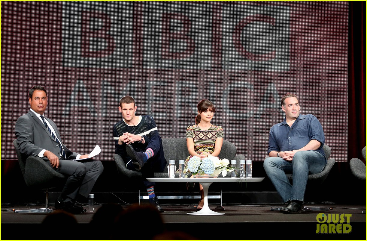matt smith jenna louise coleman dr who tca panel 042916717
