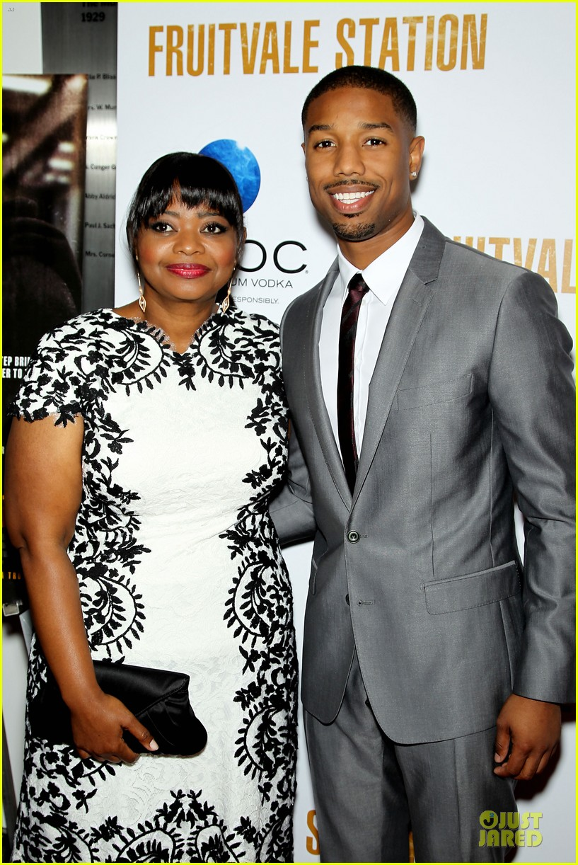 octavia spencer michael b jordan hold hands at fruitvale station nyc station 02