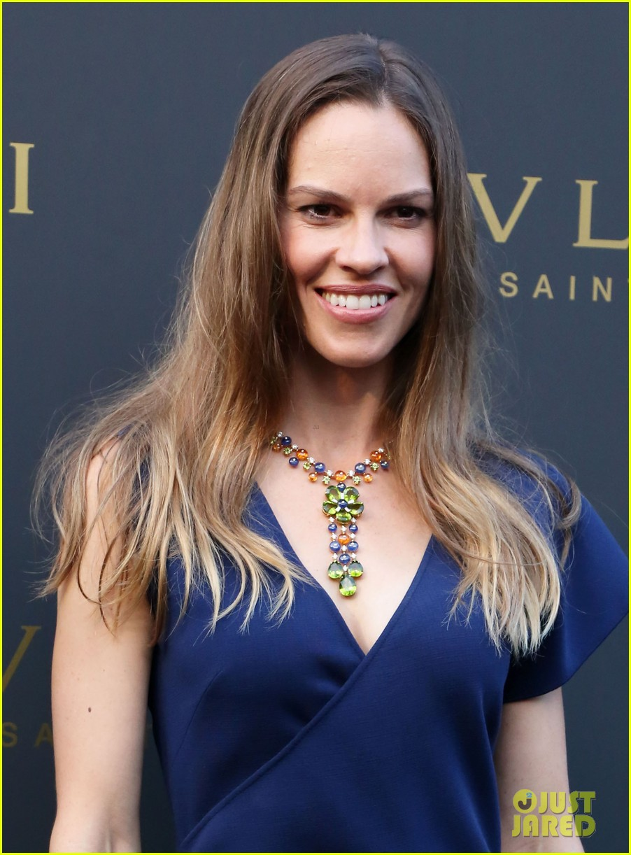 hilary swank bulgari boutique opening in saint tropez 02