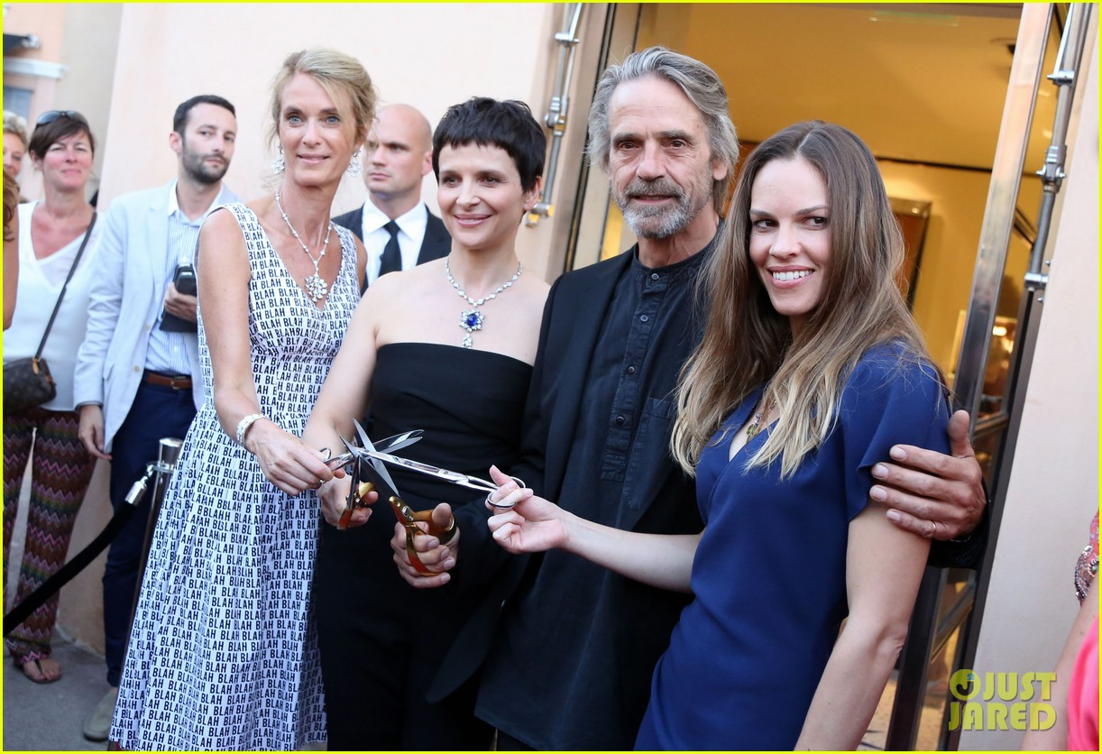 hilary swank bulgari boutique opening in saint tropez 03
