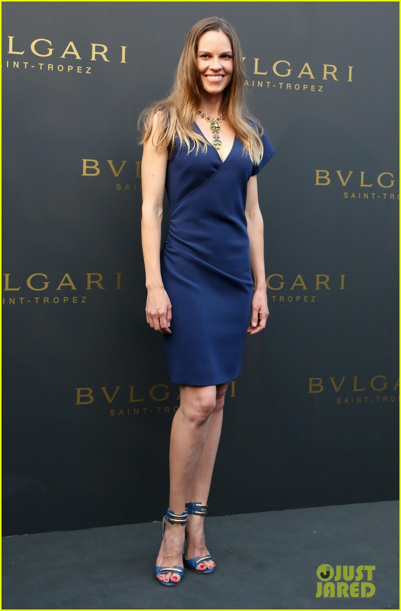 hilary swank bulgari boutique opening in saint tropez 20