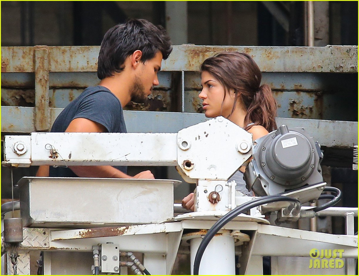 taylor lautner marie avgeropoulos tracers romance 08