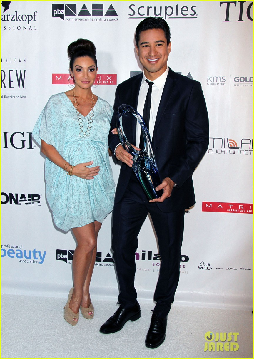 dita von teese mario lopez north american hairstyling awards 09