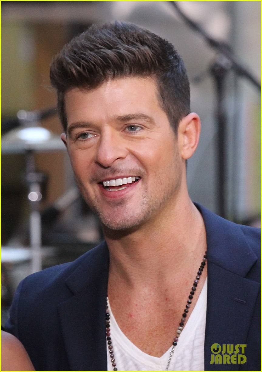 robin thicke today show performances watch now 102920114