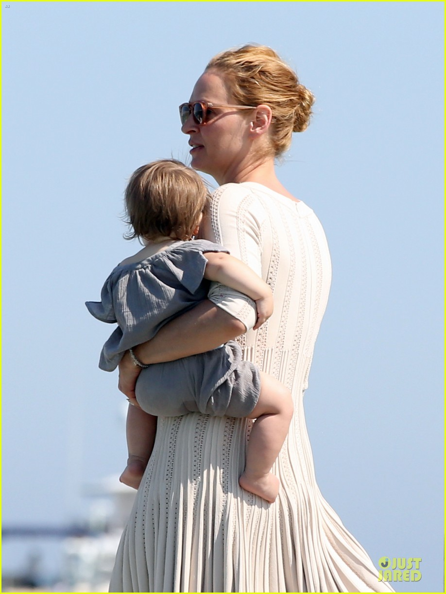 uma thurman bikini babe in saint tropez 132905359